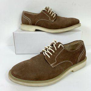 Florsheim Suede Leather Oxford Shoes Men Sz 10